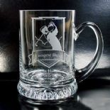 Glass Golf Award Tankard, PERSONALISED ref GAT1